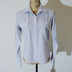 Panhandle Western Button Down